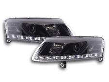 Tagfahrlicht Scheinwerfer Daylight Audi A6 Typ 4F Bj. 04-08 schwarz