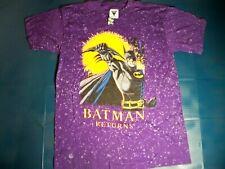 New listing Batman Returns T shirt new Size Large 1992