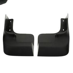 OEM 2012-2021 Nissan NV NVP Front Splash Guards Set Black NEW 999J2-HX003