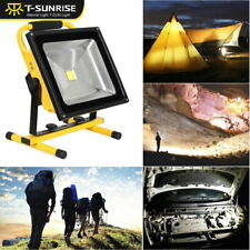 Portable Work Light 10W/20W/30W/50W Rechargeable Outdoor LED Flood Lamp Camping