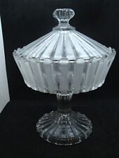 EAPG  Bakewell & Pears Glass Co's  Ribbon Covered Compote