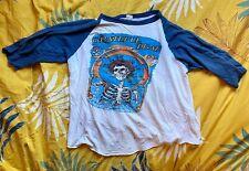 New listing Vintage 70's Grateful Dead Raglan Shirt, med-large size, Rare!