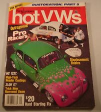 DUNE BUGGIES AND HOT VW'S MAGAZINE SEPTEMBER 1991 VOLUME 24 NUMBER 9