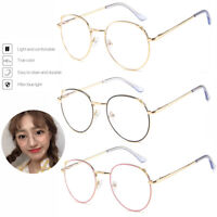 Women Computer Glasses Anti Fatigue Blue Light Blocking Gaming UV Protective