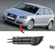 NEW AUDI A3 8P 2003 - 2008 FRONT BUMPER LOWER FOG LIGHT GRILL COVER LEFT N/S