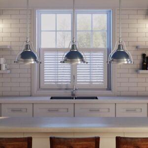 1 Pendant Light Kitchen Island Fixture Ceiling Hanging Adjustable Length Mini
