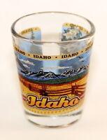 IDAHO STATE WRAPAROUND SHOT GLASS SHOTGLASS