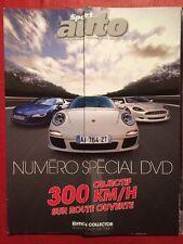 SPORT AUTO 07/2010 Koenigsegg Agera Bentley Mulsanne Porsche Cayenne Focus RS500