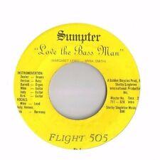 Soul/funk 45 - Flight 505 - Love The Bass Man -VG+ HEAR!