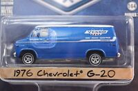 CHEVROLET G-20 VAN 1976 YENKO SPEED PARTS GREENLIGHT BLUE COLLAR 2 35060-C 1:64