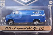 CHEVROLET G-20 VAN 1976 YENKO SPEED PARTS GREENLIGHT BLUE COLLAR 2 35060-C 1:64