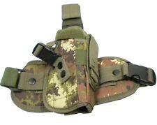 COSCIALE FONDINA CORDURA VEGETATO ROYAL universale softair 06559 airsoft holster
