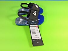 Quiksilver Toddler Boy's Sandals - Blue/Black - Size 4