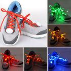 Hot Sale Nylon Flashing Shoe Laces Flash Light Up LED Glow Shoelace Strings FSS