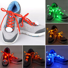 Color Changing Shoe Lace Flash Light Up LED Glow ShoeLace String Strap Party