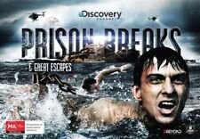 Prison Breaks & Great Escapes (DVD, 2016, 6-Disc Set) - Region 4