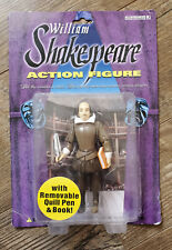 """William Shakespeare 5"""" Action Figure w/ Removable Quill Pen & Book 2003"""