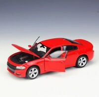 Dodge Charger RT Red 1/24 Welly Model Car