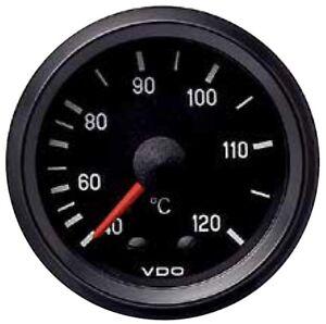 VDO WATER TEMPERATURE GAUGE, mechanical,40 - 120ºC, Capillary Length 1600mm