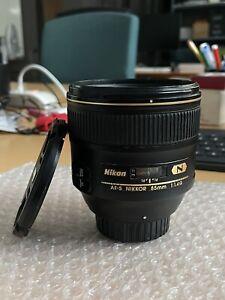Nikon 85mm f1.4 G AF-S N nikon obbiettivo nikon 85 mm G 1,4