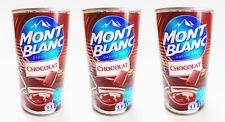 Pudding Schokolade Dessert Schoko Creme de Chocolat Mont Blanc 3 x 570g Dose !