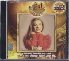 rare CD 90s 80s THALIA Kilates Limited Edition MARIA MERCEDES mundo de cristal