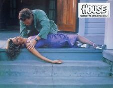 WILLIAM KATT  KAY LENZ HOUSE 1986  VINTAGE LOBBY CARD #1   HORROR