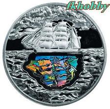 Poland 2007 silver 10 zl K Korzeniowski Joseph Conrad Statek Schiffe Ship Boat