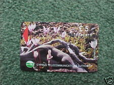 CYPRUS £5 Phonecard - Akamas Forest - Used