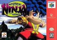 Mystical Ninja Starring Goemon Nintendo 64 N64 Video Game Super Rare Retro RPG