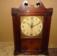 Vintage PHILCO Model 51 Colonial Style Tube Radio Clock J386
