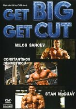 GET BIG GET CUT BODYBUILDING (Binais Begovic) - DVD - Region Free