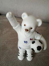 Rosenthal Figur Fußball WM Fußballbärchen Tschechien