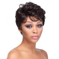 Womens Wigs Full Hair Short Fluffy Mediumuburn Wig DIY Daily Wear Women Deko