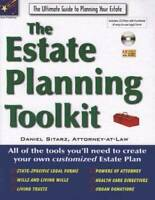 The Estate Planning Toolkit - Paperback By Daniel Sitarz - GOOD