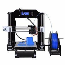 Haute Précision Reprap Prusa i3 3d imprimante kit avec Aluminium Chauffé lit