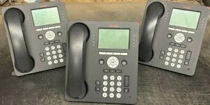 Lot of 3x Avaya 9608G Business Phones