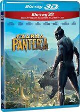 CZARNA PANTERA 3D (BLACK PANTHER 3D) - 2 BLU-RAY 3D/2D