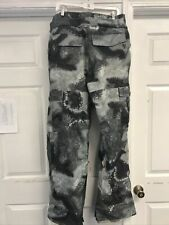 Burton Shaun White Collection Dryride Snow Pants Ski Snowboard Gray Mens Large