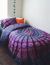 Indian Duvet Doona Cover Cotton Multi color Mandala Bohemian New size new Quilt