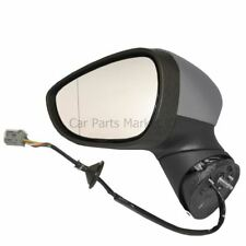 Primed Electric Heated Wing Door Mirror Unit Left N/S for Ford Fiesta 2008-On