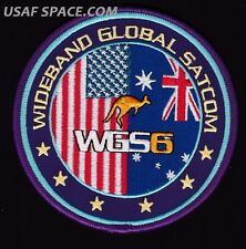 ORIGINAL WGS 6 - WIDEBAND GLOBAL SATCOM - USAF DOD CLASSIFIED SATELLITE PATCH