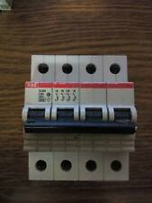 ABB S254 C63 INTERRUTTORE MAGNETOTERMICO 4 POLI 63A 6000