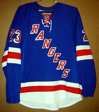 NEW YORK RANGERS CHRIS DRURY Blue #23 AUTHENTIC NHL Hockey Size 56 JERSEY