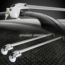 "50""ALUMINUM ROOF RACK/RAIL CAR/SUV TOP CLAMP-ON CROSSBAR LUGGAGE CARGO RACK+LOCK"