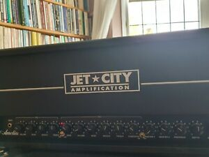 Jet City Amelia 50-Watt 2-Channel Tube Guitar Amp Head plus cover and mod