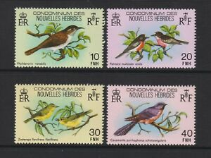 New Hebrides - 1980, Birds set - In French - MNH - SG F296/9