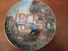 New listing Hummel Collector Plate- Apple Tree Boy and Girl-1/4 inch