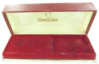 SCARCE c1960s OMEGA MENS WATCH DISPLAY BOX. SEAMASTER, CONSTELLATION, DE VILLE