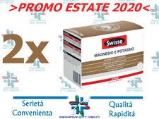 2 Confezioni Swisse Magnesio e Potassio 24+24 Bustine - PROMO Estate 2020